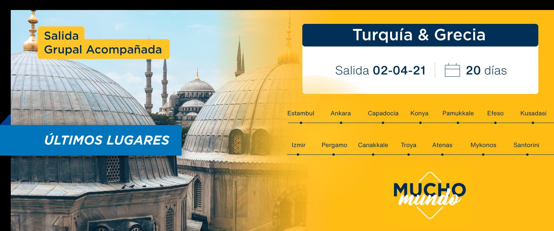Foto Turquia y Grecia l 02 de Abril 2021 - desde Buenos Aires